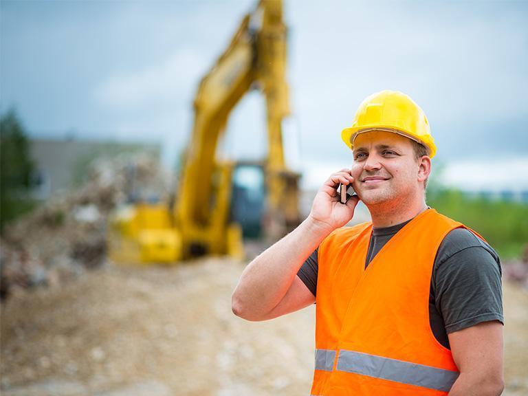 Robotnik ztelefonem